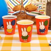 Miffy Birthday Paper Cups (8)